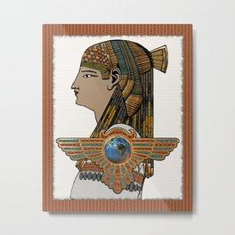 Egyptopia Metal Print