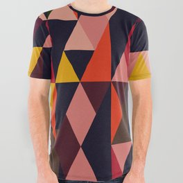 Vintage vibes_in warm hues All Over Graphic Tee