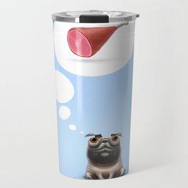Dream (Concept funny illustration) Travel Mug