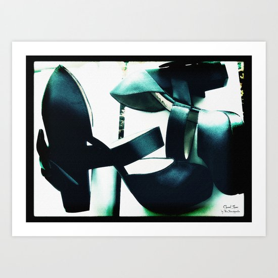 Shoes - Chanel II Art Print