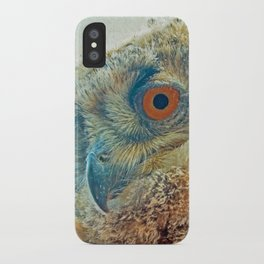 PROF-OWL iPhone Case
