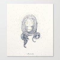 hug Canvas Prints featuring Hug by huemula
