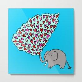 elephant loves Metal Print