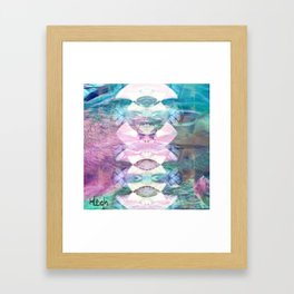 Reflection In the Water Framed Art Print
