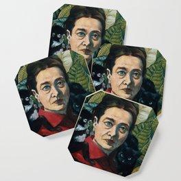 Simone DeBeauvoir Coaster