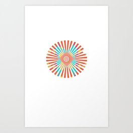 Spoken Wheel Art Print