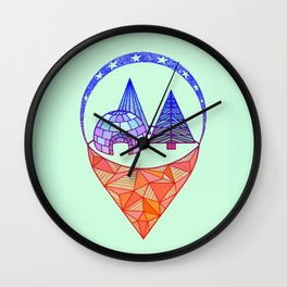 icetown Wall Clock
