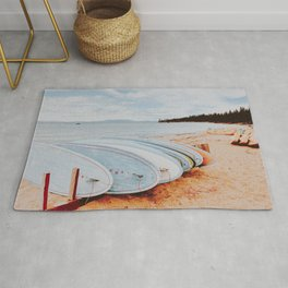 lets surf xxxii Rug