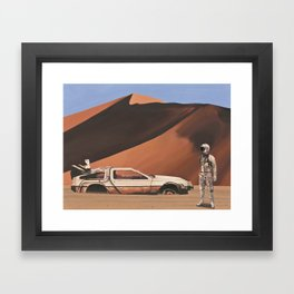 Forgotten Time Machine Framed Art Print