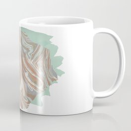 Abstract Marble and Mint Coffee Mug