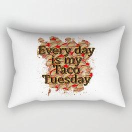 Every Day Tacos Rectangular Pillow