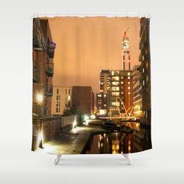 Birmingham and Fazeley Canal At Fleet Street Shower Curtain