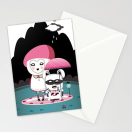 Super Tofu Boy and Sweet Sweet Tofu Stationery Cards