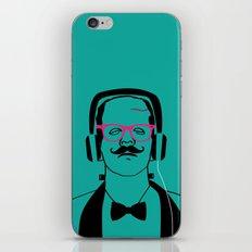 Hipsterstein iPhone & iPod Skin