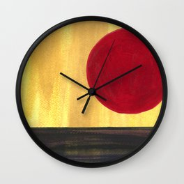 On the Rise Wall Clock