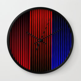 Carlos Cruz-Diez Fanfic Wall Clock