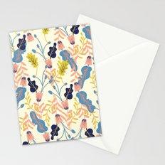 Pastel Floral Pattern Stationery Cards