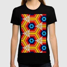 geometric colorfull T-shirt