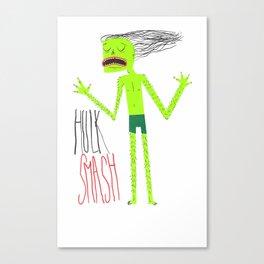 HULK SMASH Canvas Print