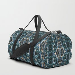 Basket weaving with ropes Duffle Bag