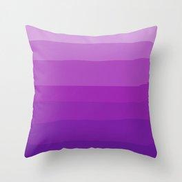 Ultra Violet Gradient Throw Pillow