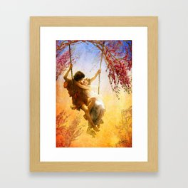 The Spring of Our Love Framed Art Print