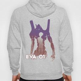 Shinji Ikari EVA 01 - Evangelion Hoody