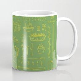 Gardening and Farming! - illustration pattern Coffee Mug