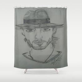 Jared Leto. Shower Curtain