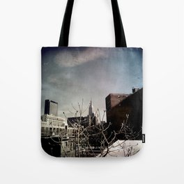 Winter Chill in the City Tote Bag