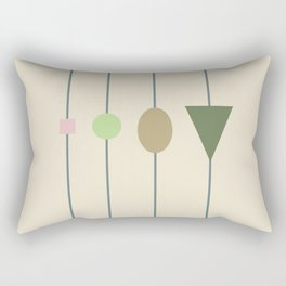 beading || april grass Rectangular Pillow