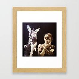 The Twins Framed Art Print