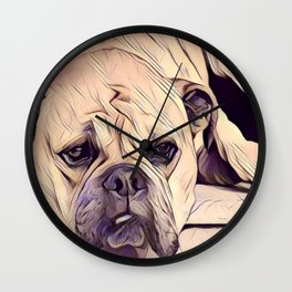 Water-color Trendy Animals Art Print Wall Clock