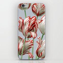 Semper Augustus Tulips iPhone Skin