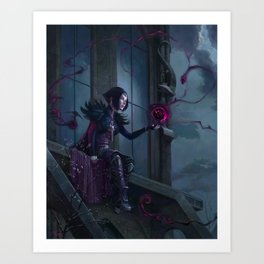 Black Mage Art Print