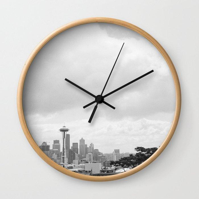 Seattle Days Wall Clock