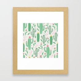 cactus pc Framed Art Print