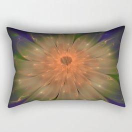 Abstract Flame Flower Rectangular Pillow