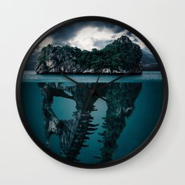 Mistry Island Secret Wall Clock