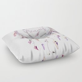 Dreamers of dreams Floor Pillow