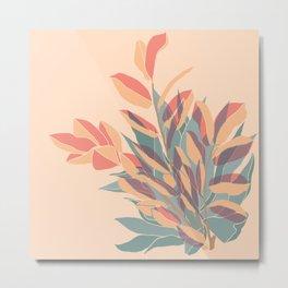 Miraculous Plant Duo Metal Print