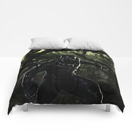 Big Cat On The Prowl Comforters