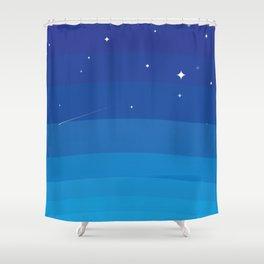 Wild BlueYonder Shower Curtain