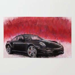 Porsche 911 Turbo Rug