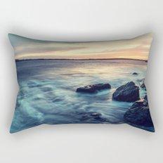 Sunset on the Breakwater Rectangular Pillow