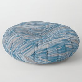 Ocean Ripples and Reflections Floor Pillow