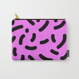Pink Print Carry-All Pouch