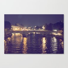 Paris by Night II Canvas Print