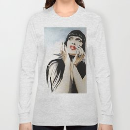 Pete Burns Long Sleeve T-shirt