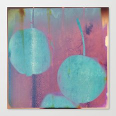 Blue Cherries Canvas Print